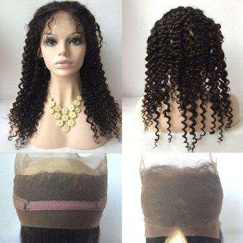 Free Part Deep Wave Long Lace Front Human Hair Wig