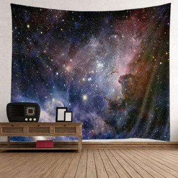 Wall Art Night Sky Tapestry - BLUE AND BLACK 200*150CM