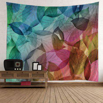 Leaf Print Wall Hanging Art Decoration Tapestry