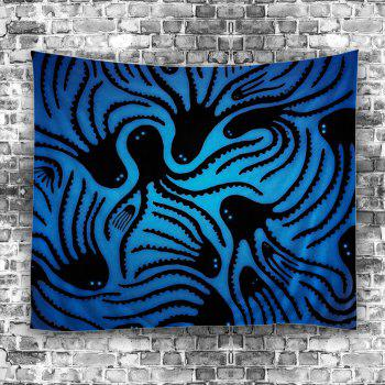 Octopus Wall Hanging Tapestry - BLUE W51 INCH * L59 INCH