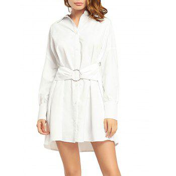 Boyfriend Button Up Shirt Dress