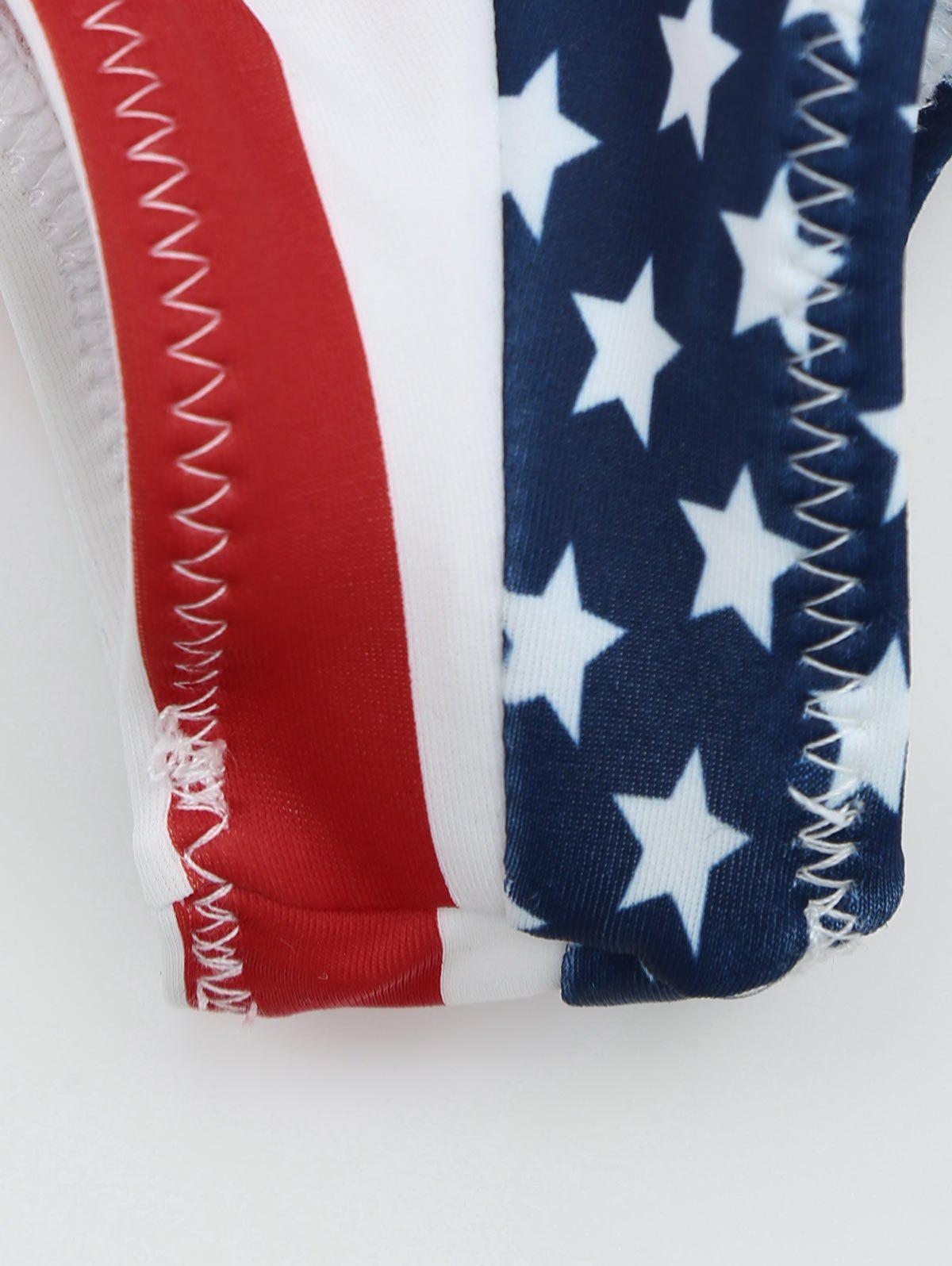 Swimming Thong Panties - US FLAG L