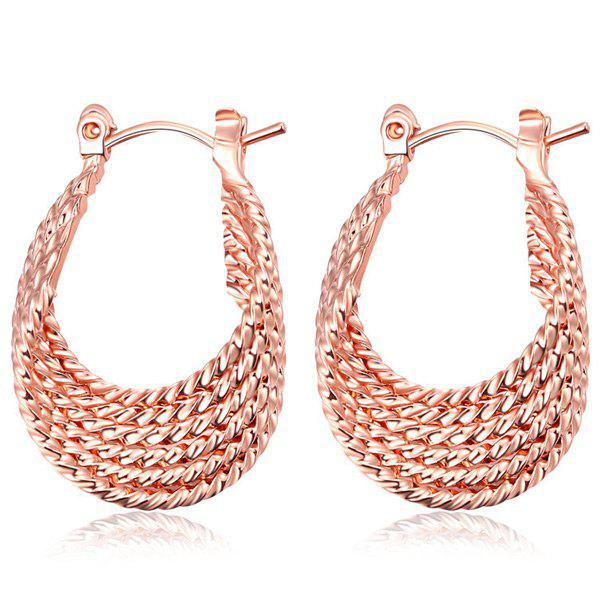 Gypsy Horseshoe Shaped Hoop Earrings