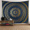 Rectangle Wall Hanging Art Decor Mandala Print Tapestry - PURPLISH BLUE W59 INCH * L79 INCH