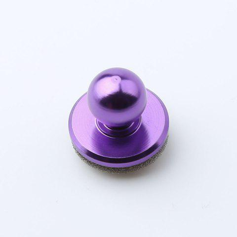 Mobile Phone Game Controller Anti Stress Spinner - PURPLE 2.5*2.5CM