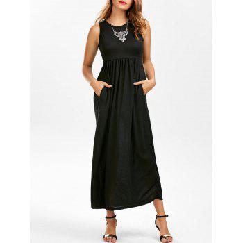 Empire Waist Maxi Tank Dress