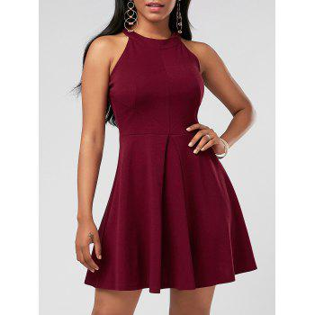 Mini Sleeveless Skater Cocktail Dress