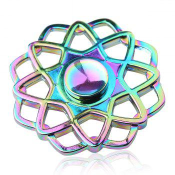 Colorful Hollow Out Fidget Toy Finger Spinner