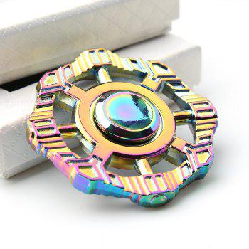 Colorful Zinc Alloy Finger Spinner Fidget Toy - COLORFUL COLORFUL