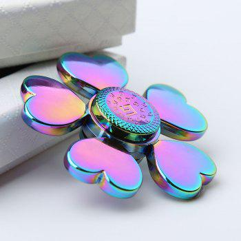 Rainbow Heart Blades Fidget Spinner Stress Reducer