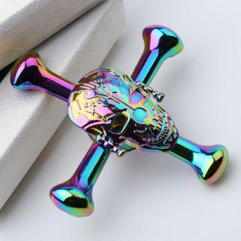 Colorful Skull EDC Fidget Gadget Focus Spinner à main - Coloré 7*7*1.5CM