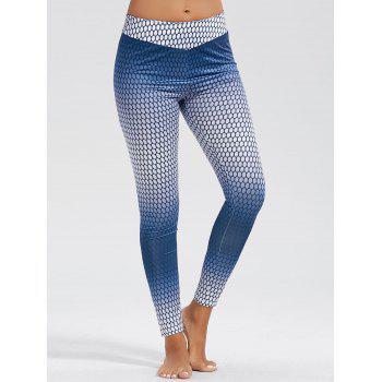 Ombre High Waist Funky Gym Leggings