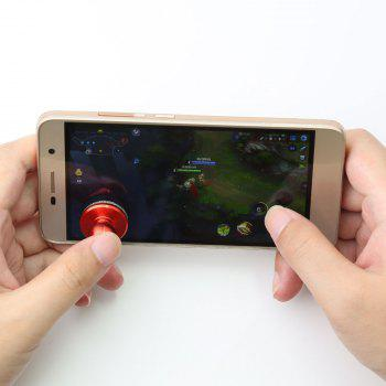 Mobile Phone Game Controller Anti Stress Spinner - RED RED