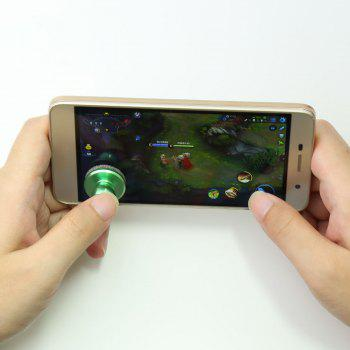 Mobile Phone Game Controller Anti Stress Spinner - GREEN 2.5*2.5CM