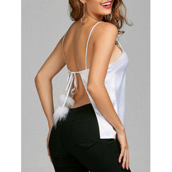 Backless Wrap Cami Top