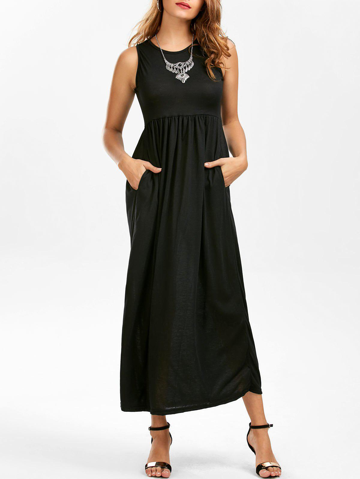 More Details Rachel Pally Long Sleeveless Empire-Waist Caftan Dress, Plus Size Details Rachel Pally maxi dress in stretch jersey with shirring detail. Approx.