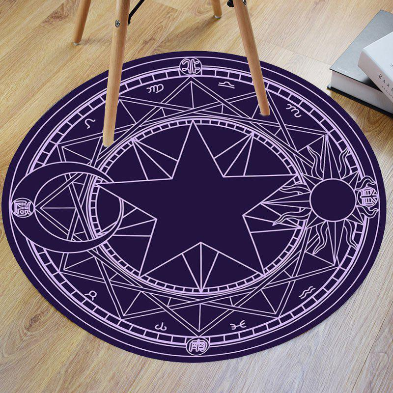 Crystal Velvet Fabric Magic Circle Round Bath Mat трусы слипы tai magic boost velvet