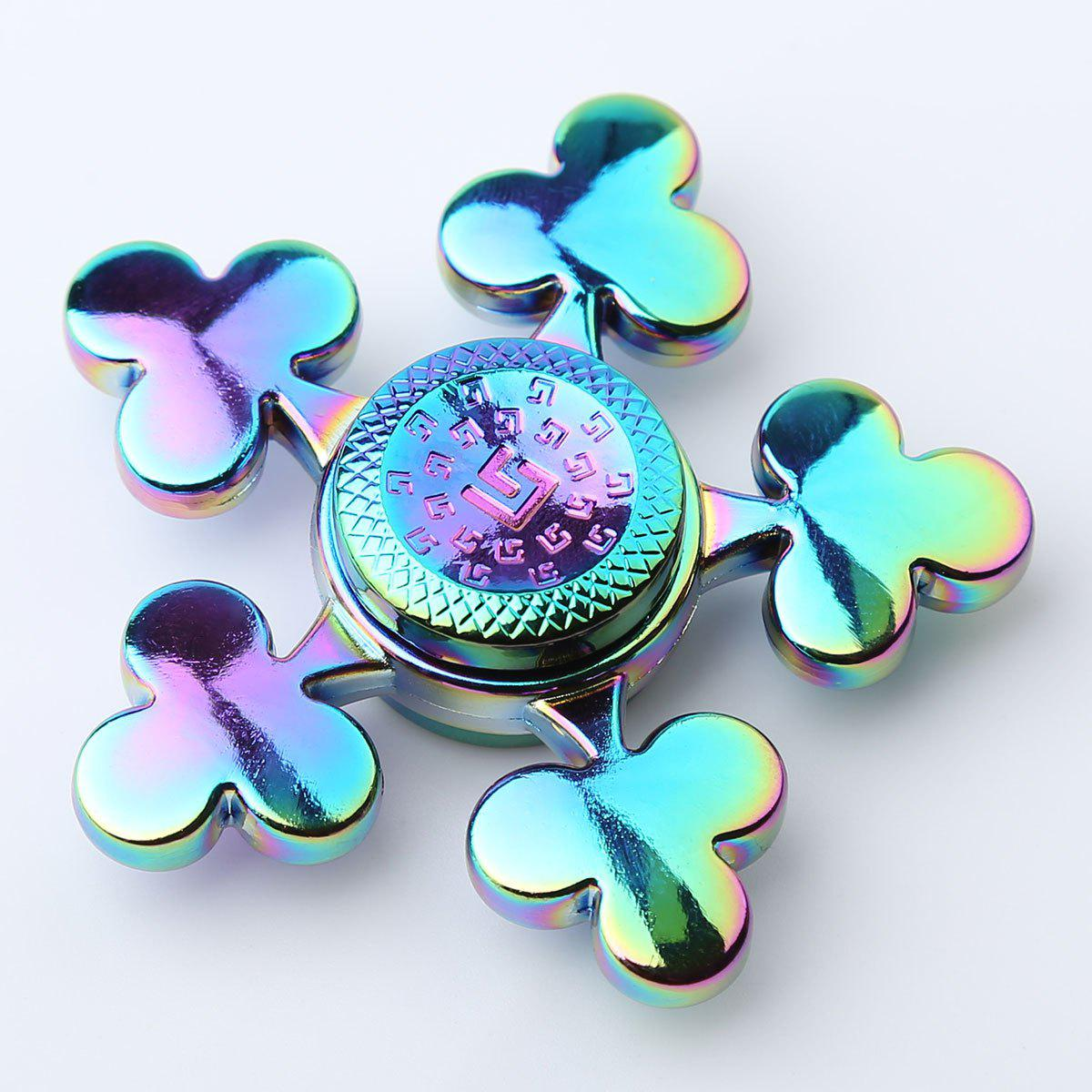 Fidget Toy Stress Relief Spinner à la main pour le temps de tuer - coloré 6*6*1.5CM