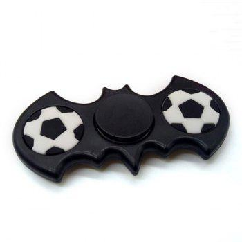 Football Pattern Batwing Hand Spinner -  BLACK WHITE