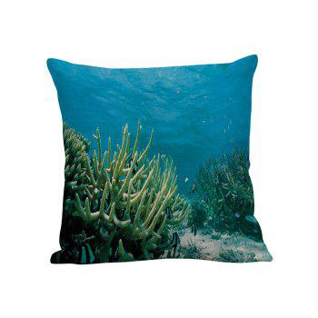 3D Coral Underwater Pillow Case