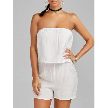 Plain Tube Romper