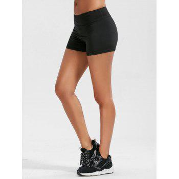 Mini Sporty Shorts with Pockets - M M