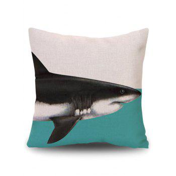Cushion Pillow Case Cover with Dolphin Print