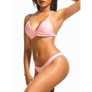 Low Cut Skimpy Bikini with Padding