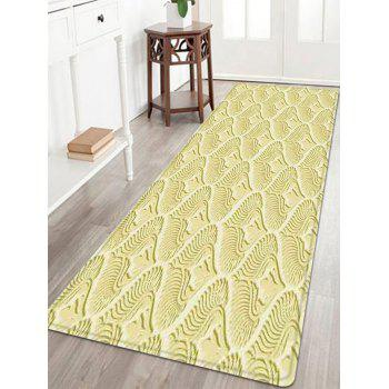 Patterned Indoor Outdoor Anti-skid Area Rug