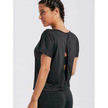 Quick Dry Simple Sports T-shirt - M M