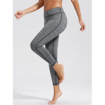 High Waist Fitness Leggings with Pockets