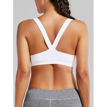 Racer Back Padded Workout Bra