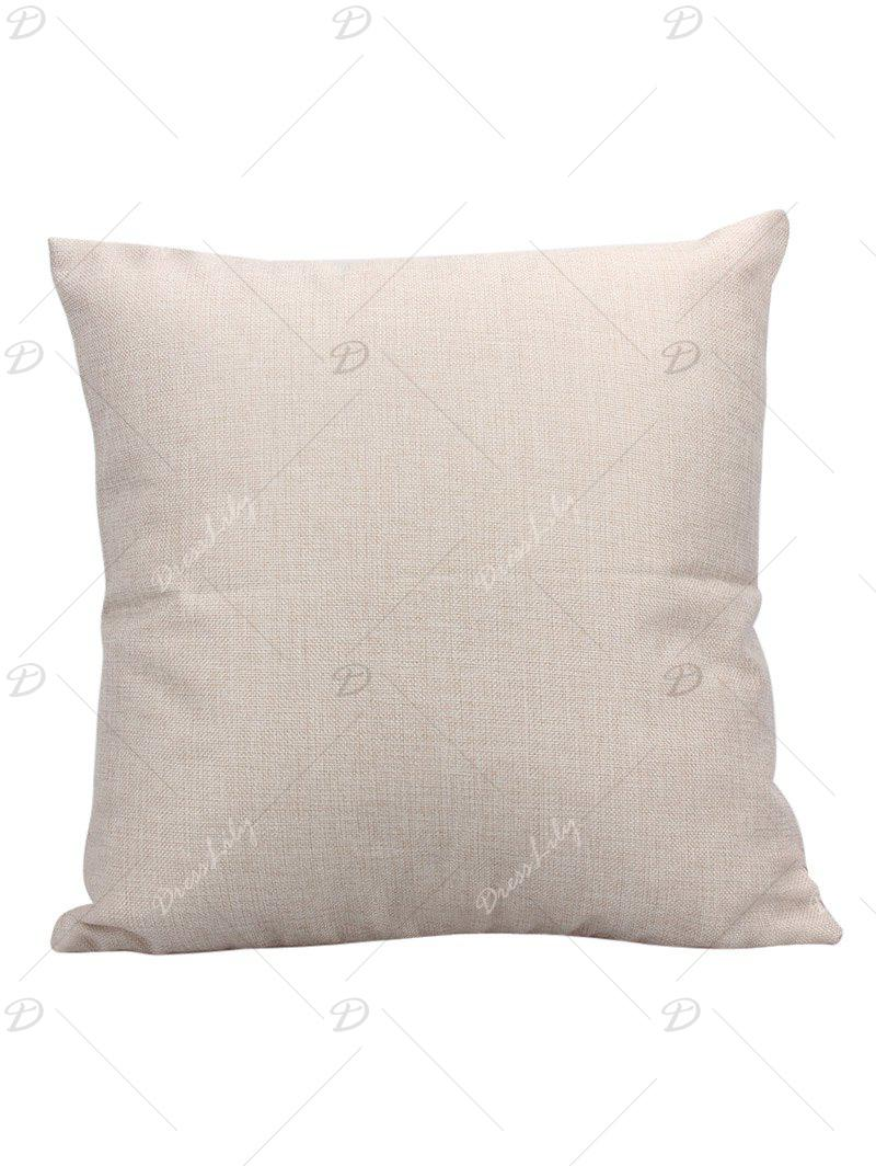 Night Sky Star Linen Pillow Case - CERULEAN 45*45CM