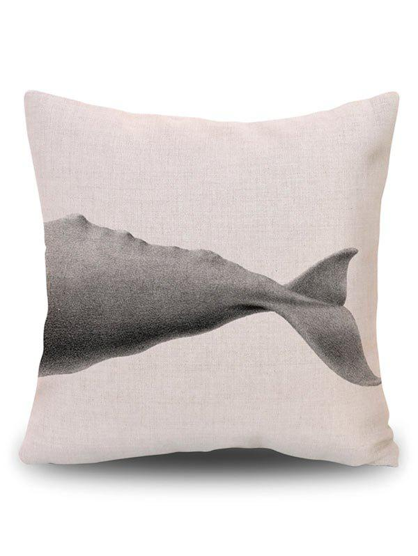 Shark Sofa Decorative Throw Linge de housse d'oreiller - RAL Beige PATTERN A