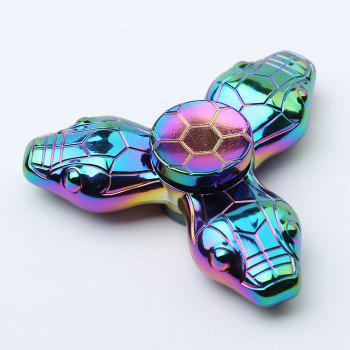 Colorful Snake Tri-bar Fidget Metal Spinner