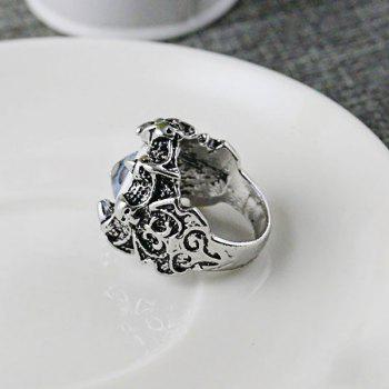 Stainless Steel Devil Eye Shape Ring - 10 10