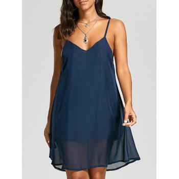 Back Criss Cross Cami Dress