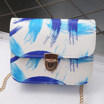 Ink Paint Mini Crossbody Bag - BLUE BLUE