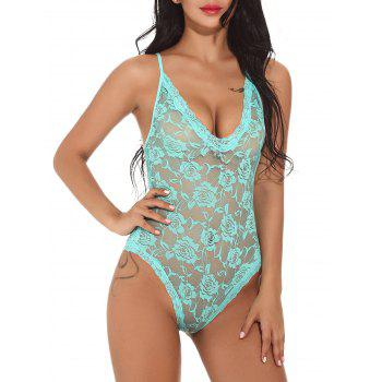Mesh Cami Lace Teddy