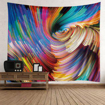 Wall Hanging Colorful Vortex Art Tapestry