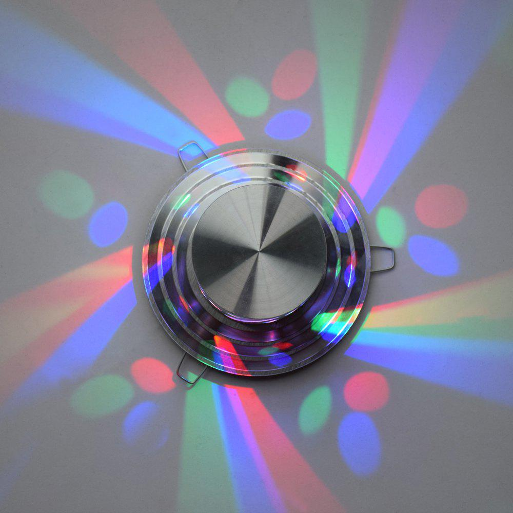 Decorative Colorful LED Wall Light - SILVER