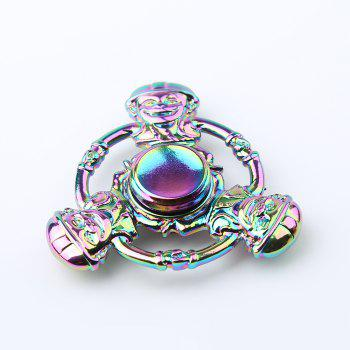 Cartoon Logger Vick Tri-bar Colorful Fidget Spinner -  COLORMIX