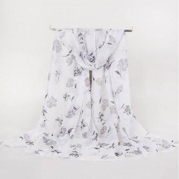 Gossamer Lightsome Tiny Floral Printed Scarf