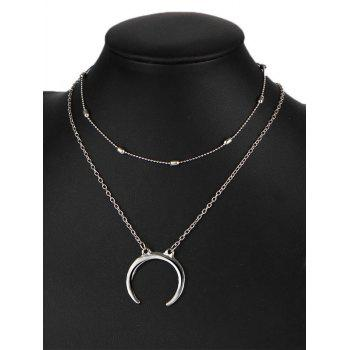 Gypsy Moon Pendant Necklace Set