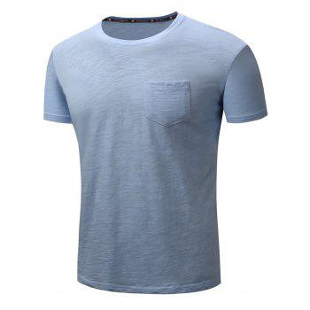 Pocket Cotton Short Sleeve T-shirt