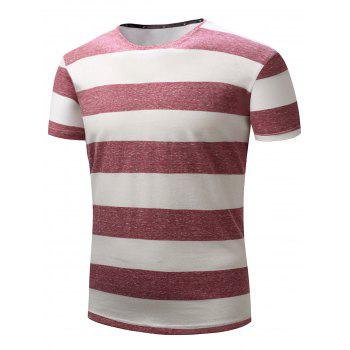 Broad Striped Short Sleeve T-shirt