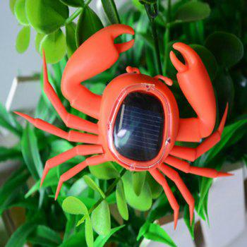 Solar Powered Crab Moving Toy