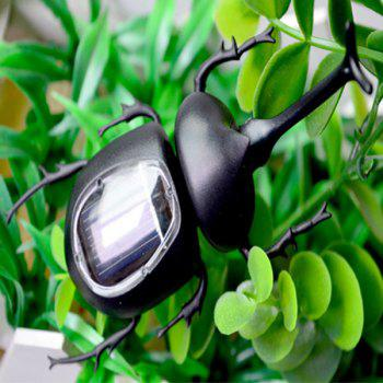 Solar Unicorn Beetle - BLACK BLACK