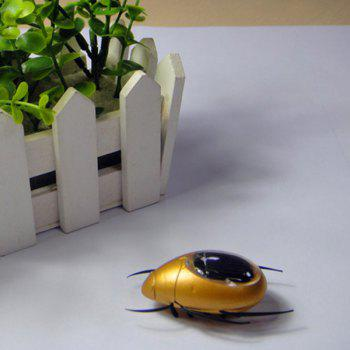 Solar Powered Beetle -  GOLDEN