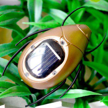 Solar Powered Beetle - GOLDEN GOLDEN